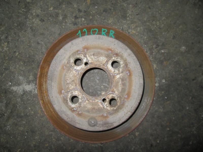 Диск тормозной Toyota Corolla E120L 4ZZ-FE 2004 задний