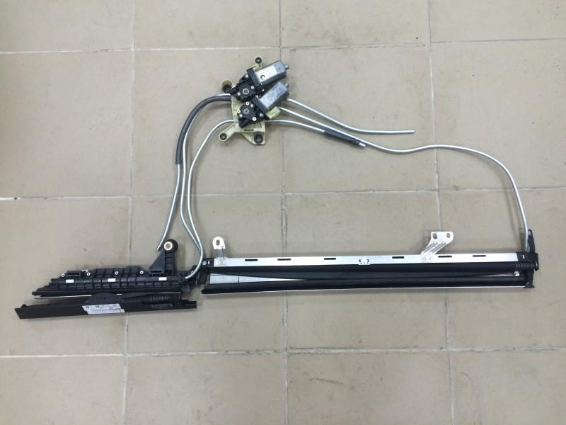 Шторка окна Bmw 7-Series E66 N62B44A 2003 задняя правая