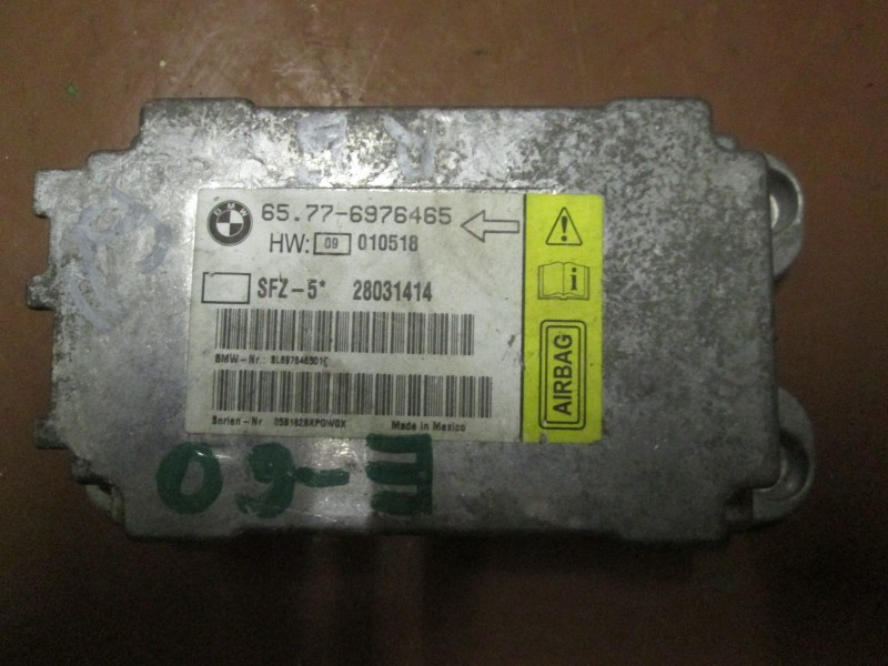 Эбу air bag Bmw 530I Xdrive E60 N52B30 2006