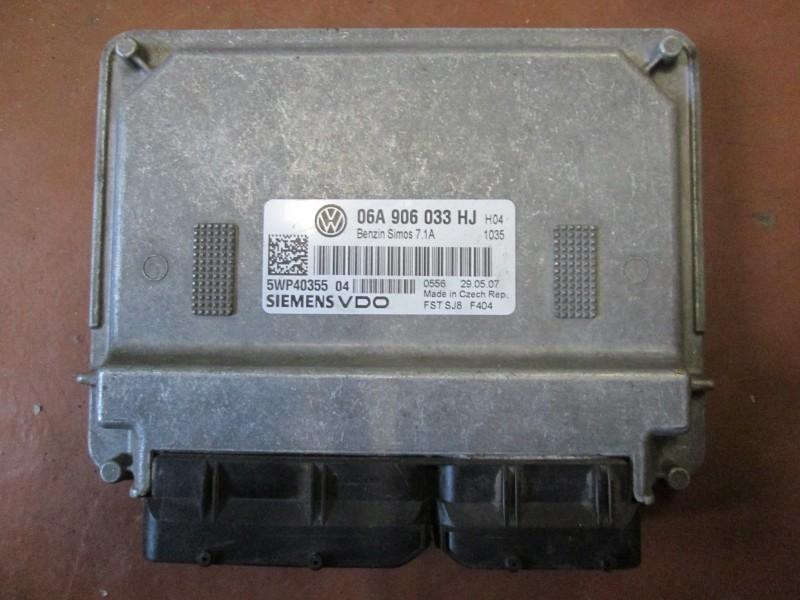 Блок управления двс Volkswagen Caddy 2KB BSE 2007