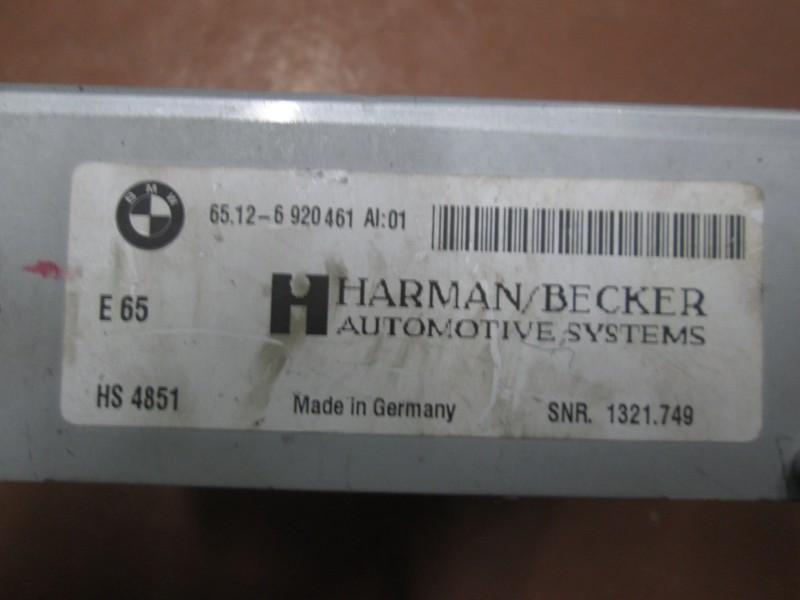 Усилитель магнитолы Bmw 7-Series E66 N62B40A 2006