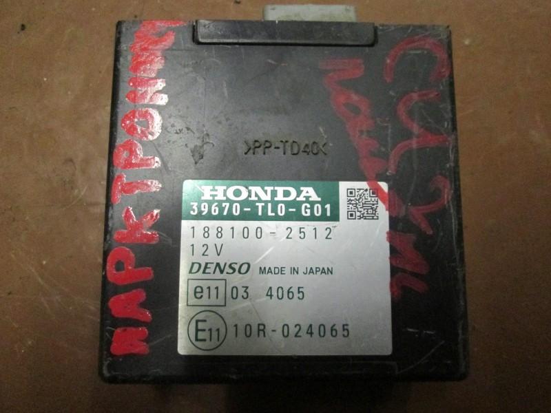 Блок управления парктроником Honda Accord CU2 K24Z3 2008