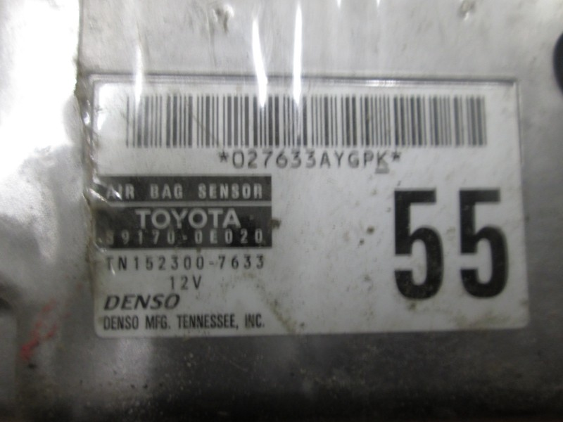 Эбу air bag Lexus Rx330 MCU38 3MZ-FE 2004