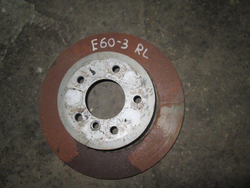 Диск тормозной Bmw 5-Series E60 N52B25A 2006 задний