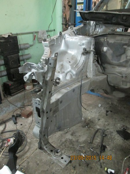Лонжерон Toyota Rav4 ACA31 2AZ-FE 2007 передний правый