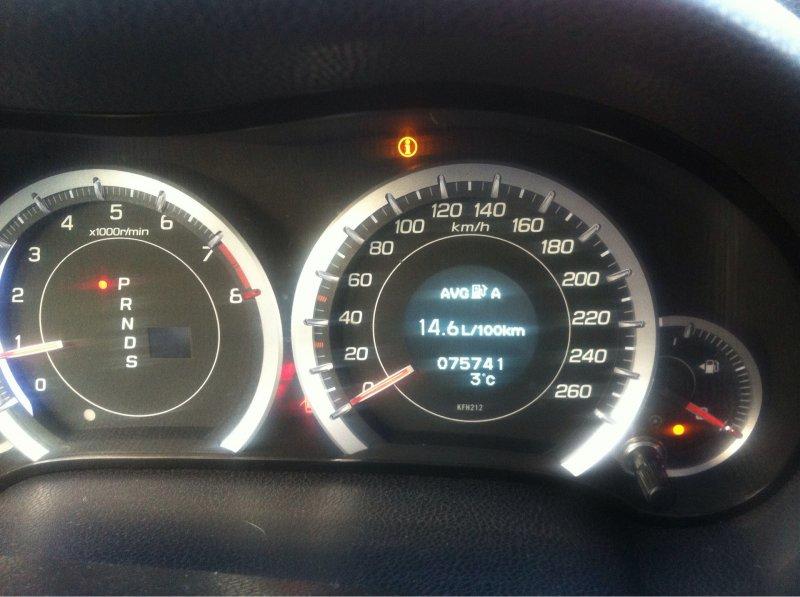 Спидометр Honda Accord CU2 K24Z3 2009
