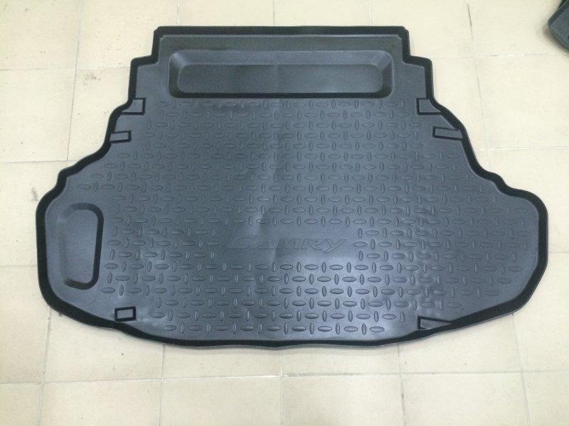 Коврик в багажник Toyota Camry ASV50 2AR-FE 2013 задний