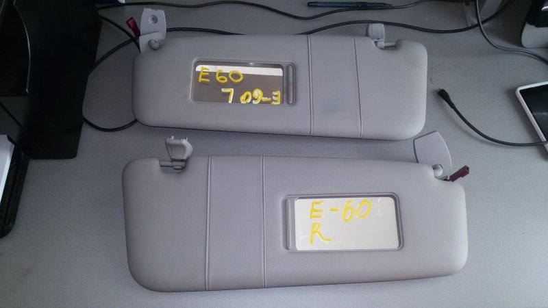 Козырек солнцезащитный Bmw 5-Series E60 N52B25A 2006