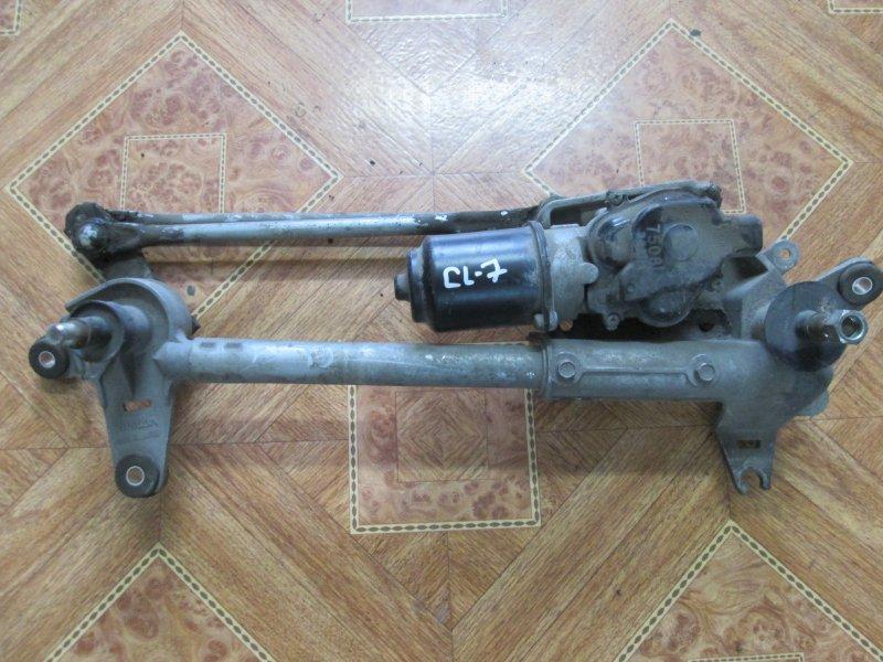 Механизм дворников, трапеция Honda Accord CL7 K20Z2 2007