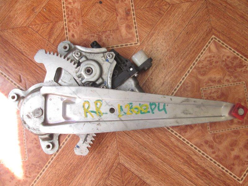Стеклоподъёмный механизм Mitsubishi L200 KB4T 4D56 2008 задний правый