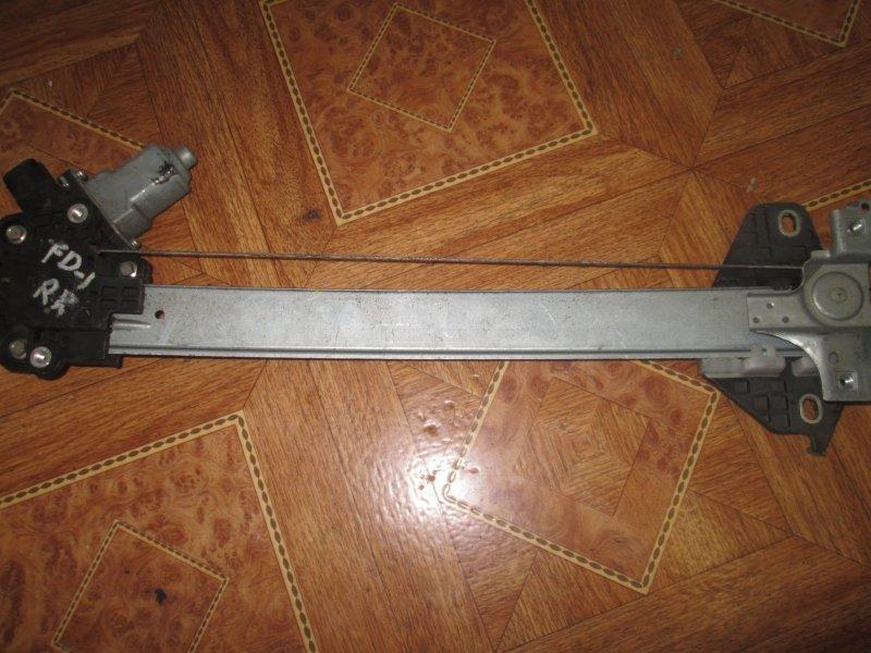 Стеклоподъёмный механизм Honda Civic FD3 LDA2 2011 задний правый
