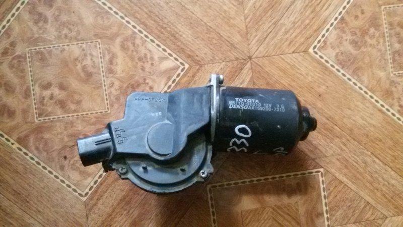 Моторчик стеклоочистителя Lexus Rx330 MCU38 3MZ-FE 2004 передний