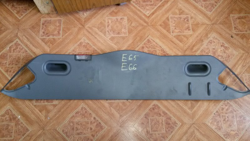 Обшивка крышки багажника Bmw 7-Series E66 N62B40A 2006 задняя нижняя