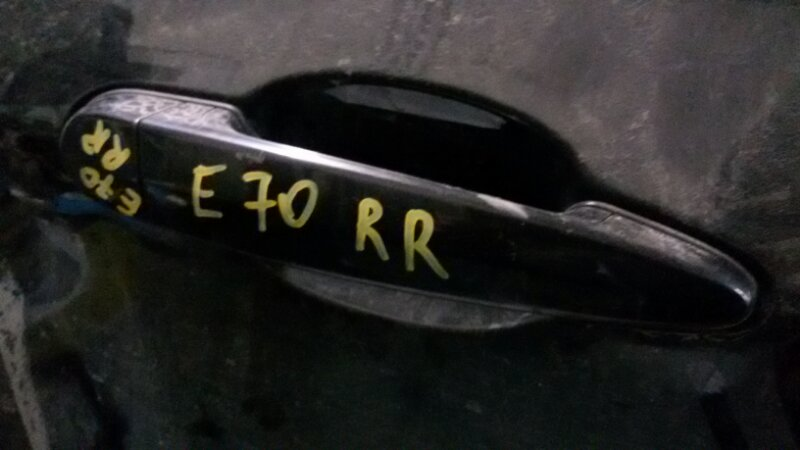 Ручка двери внешняя Bmw X5 E70 M57TU2D30 2008 задняя правая