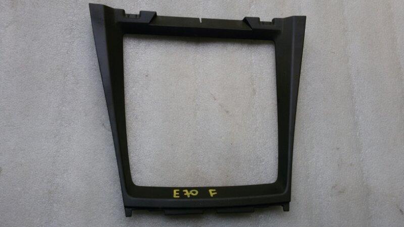 Накладка на консоль кпп Bmw X5 E70 M57TU2D30 2008