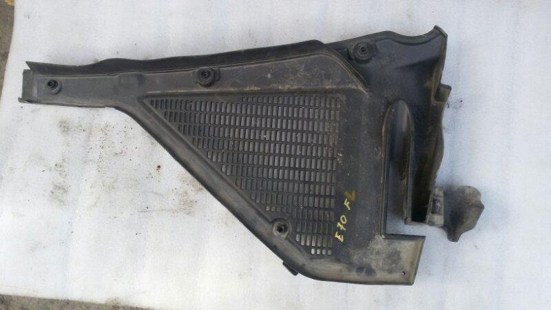 Решетка, жабо под дворники Bmw X5 E70 M57TU2D30 2008 левый