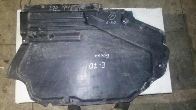 Защита днища кузова Bmw X5 E70 M57TU2D30 2008 задняя левая