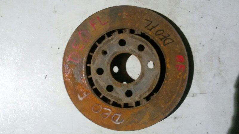 Диск тормозной Daewoo Nexia KLETN A15SMS 2012 передний
