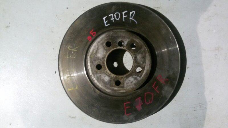 Диск тормозной Bmw X5 E70 M57TU2D30 2008 передний