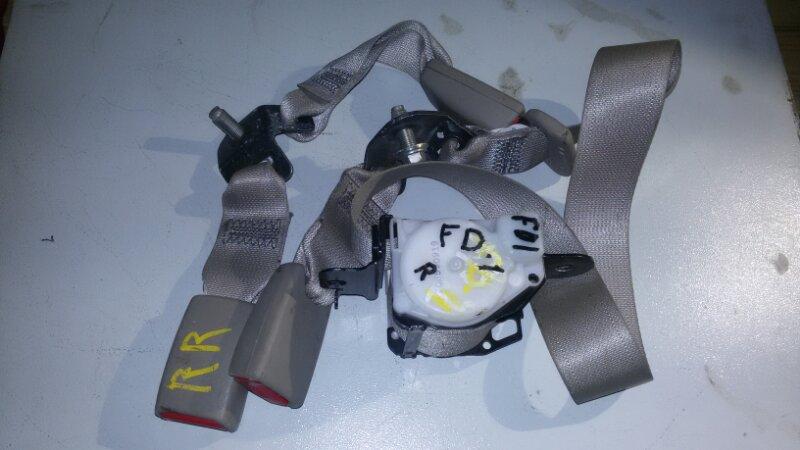 Ремень безопасности Honda Civic FD3 LDA2 2011 задний
