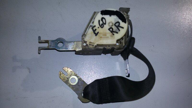 Ремень безопасности Bmw 5-Series E60 N52B25A 2006 задний правый