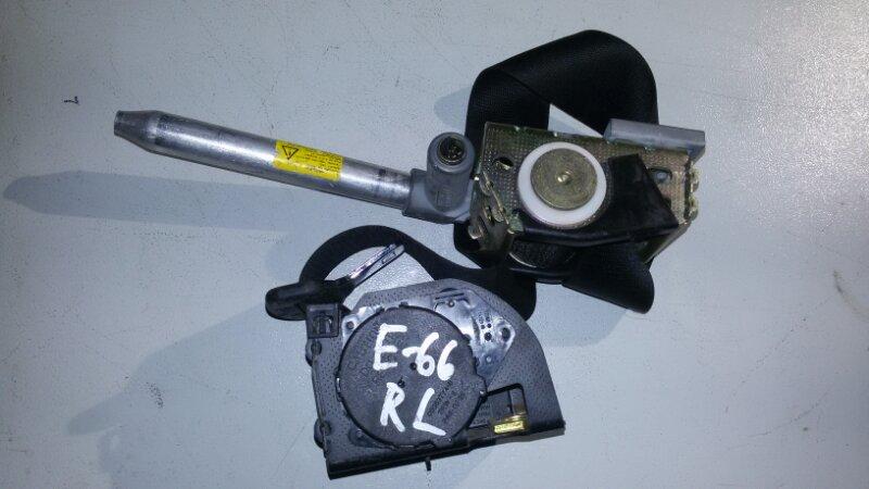 Ремень безопасности Bmw 7-Series E66 N62B40A 2006 задний левый