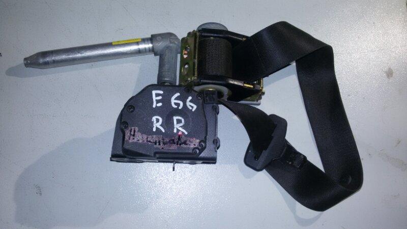 Ремень безопасности Bmw 7-Series E66 N62B40A 2006 задний правый