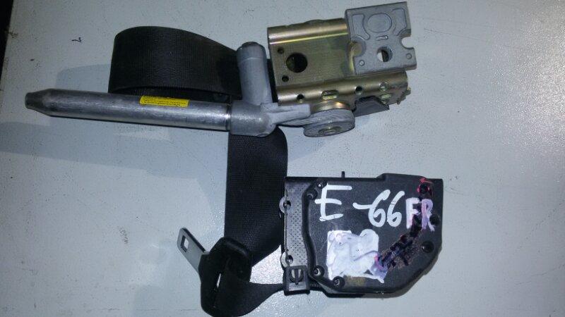 Ремень безопасности Bmw 7-Series E66 N62B40A 2006 передний правый