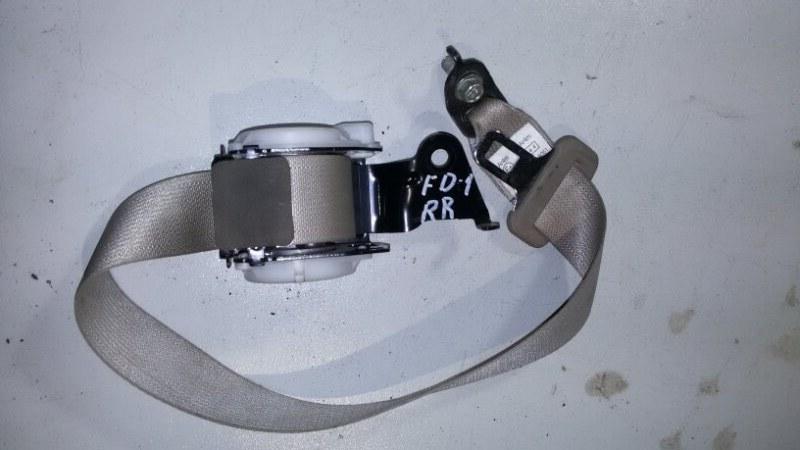 Ремень безопасности Honda Civic FD3 LDA2 2011 задний правый