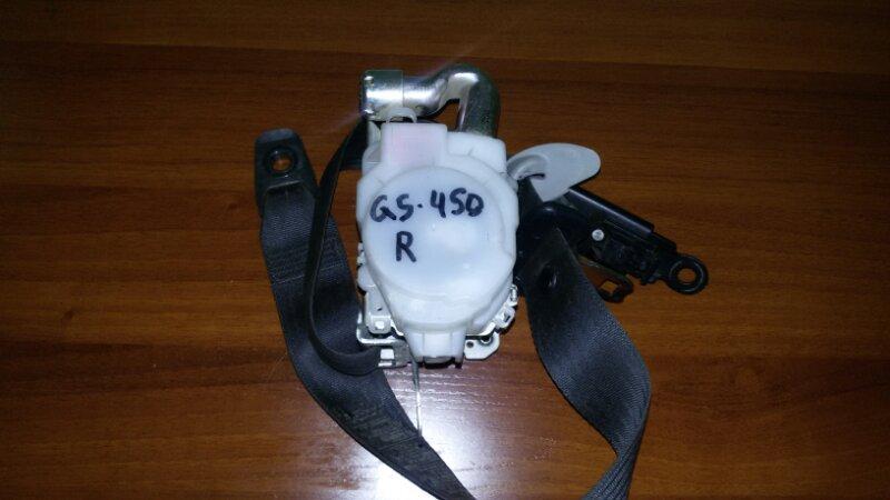 Ремень безопасности Lexus Gs450H GWS191 2GR-FSE 2008 передний правый
