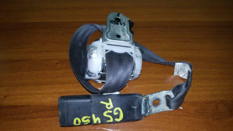 Ремень безопасности Lexus Gs450H GWS191 2GR-FSE 2008 задний