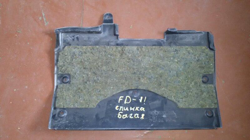 Обшивка багажника Honda Civic FD3 LDA2 2011