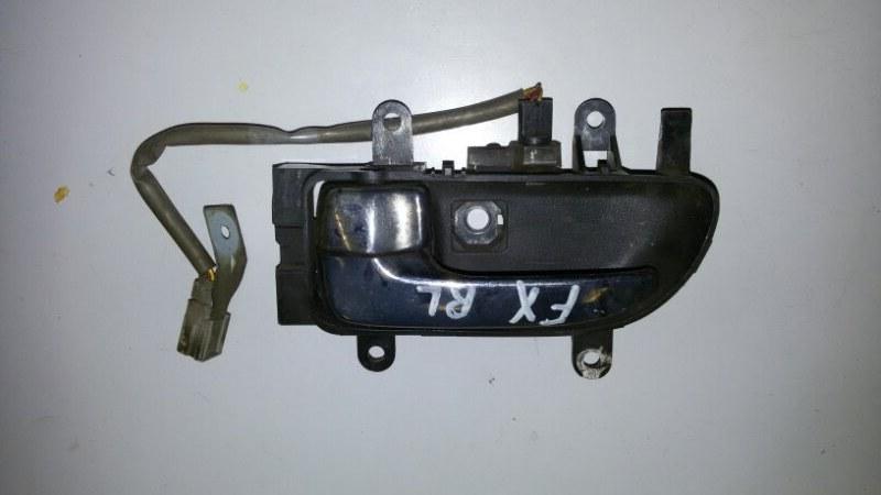 Ручка двери внутренняя Infiniti Fx45 S50 VK45DE 2006 задняя левая