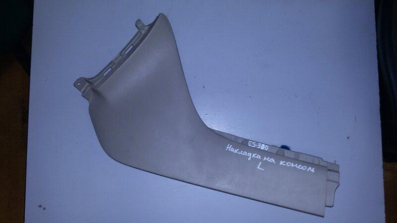 Накладка на ковролин порога Lexus Es300 MCV30 1MZFE 2002 левая