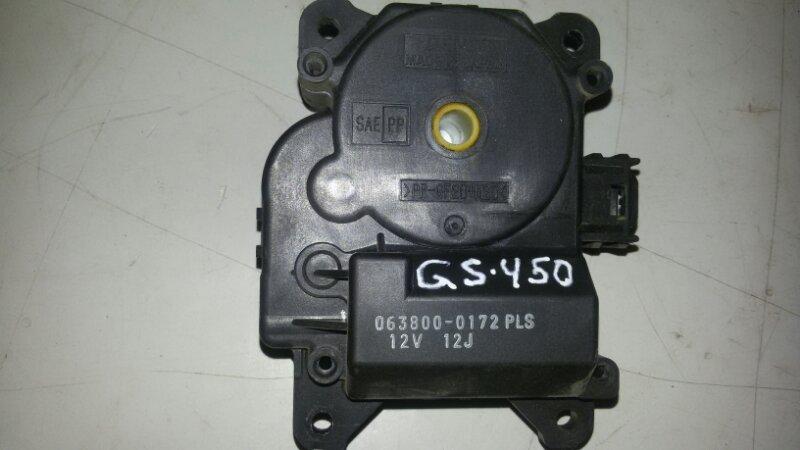 Сервопривод заслонок печки Lexus Gs450H GWS191 2GRFSE 2008
