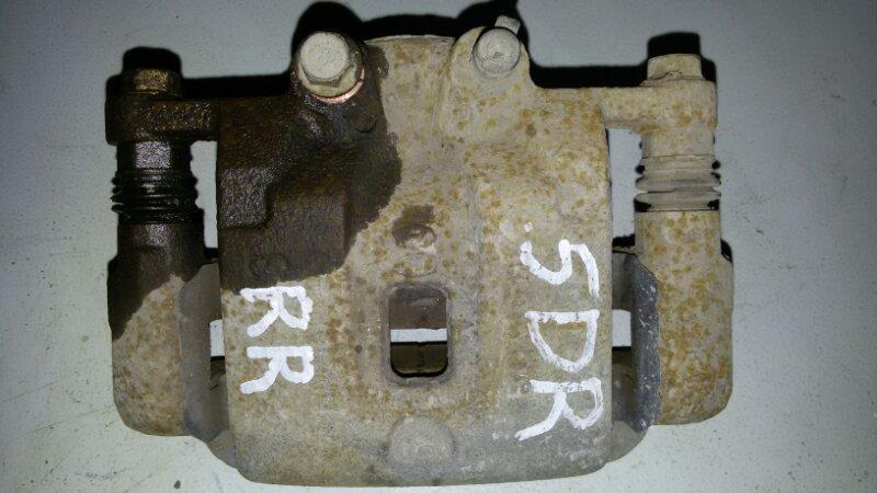 Суппорт тормозной Hyundai Santa Fe CM G4KE, 2.4L 2010 задний правый