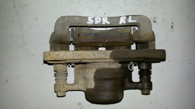 Суппорт тормозной Hyundai Santa Fe CM G4KE, 2.4L 2010 задний левый
