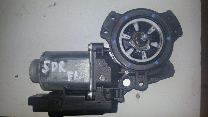 Моторчик стеклоподъемника Hyundai Santa Fe CM G4KE, 2.4L 2010 передний левый