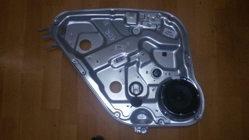 Стеклоподъёмный механизм Hyundai Santa Fe CM G4KE, 2.4L 2010 задний левый