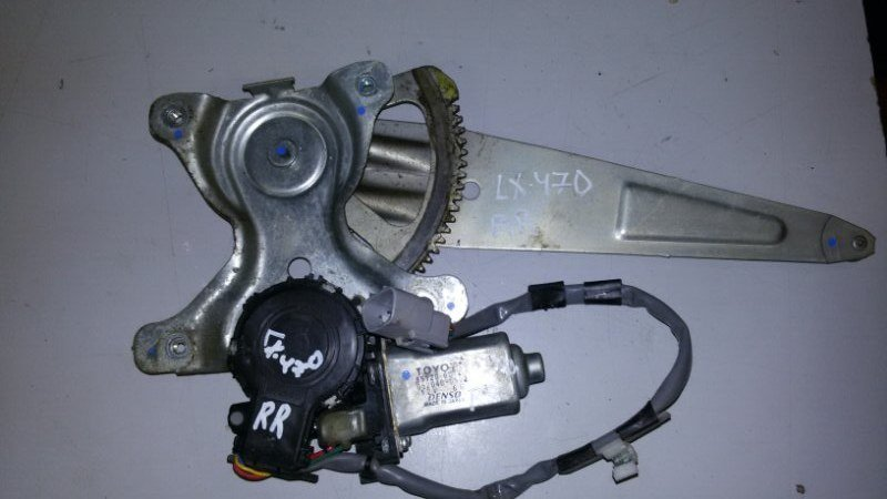 Моторчик стеклоподъемника Lexus Lx470 UZJ100 2UZ-FE 2004 задний правый