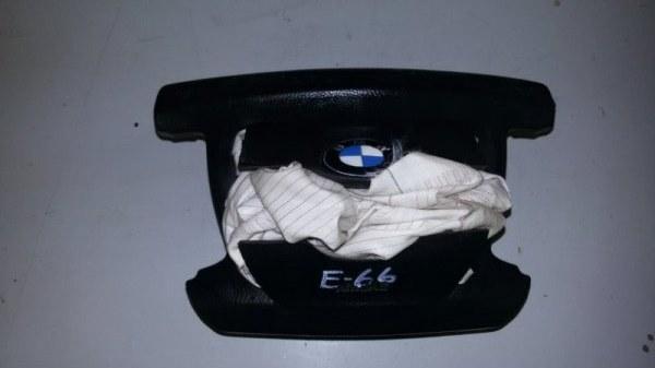 Подушка безопасности водителя Bmw 7-Series E66 N62B40A 2006