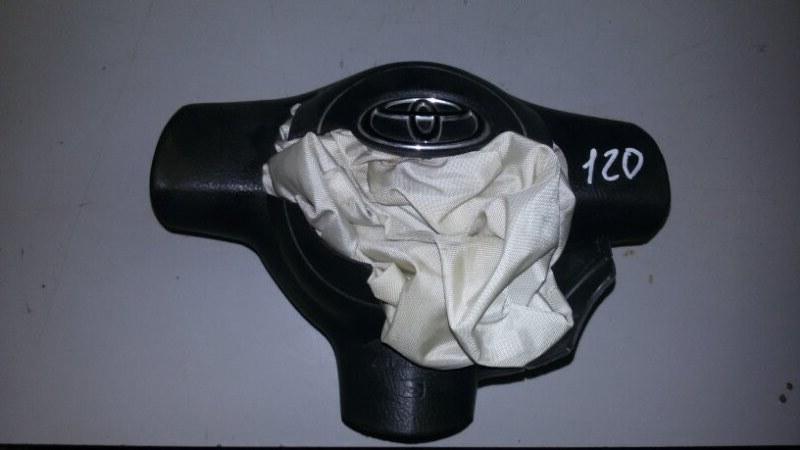 Подушка безопасности водителя Toyota Corolla E120 3ZZ-FE 2003