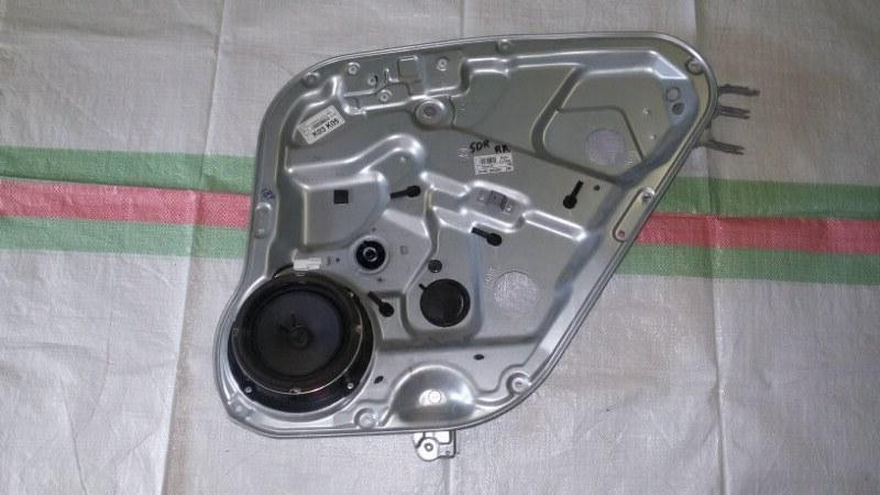 Стеклоподъёмный механизм Hyundai Santa Fe CM G4KE, 2.4L 2010 задний правый