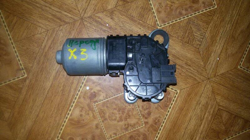 Моторчик стеклоочистителя Bmw X3-Series E83 N52B30 2007 передний