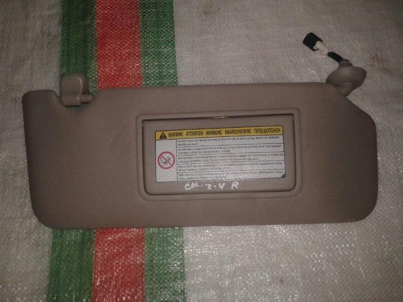 Козырек солнцезащитный Honda Accord CU2 K24Z3, 2,4 2012 правый