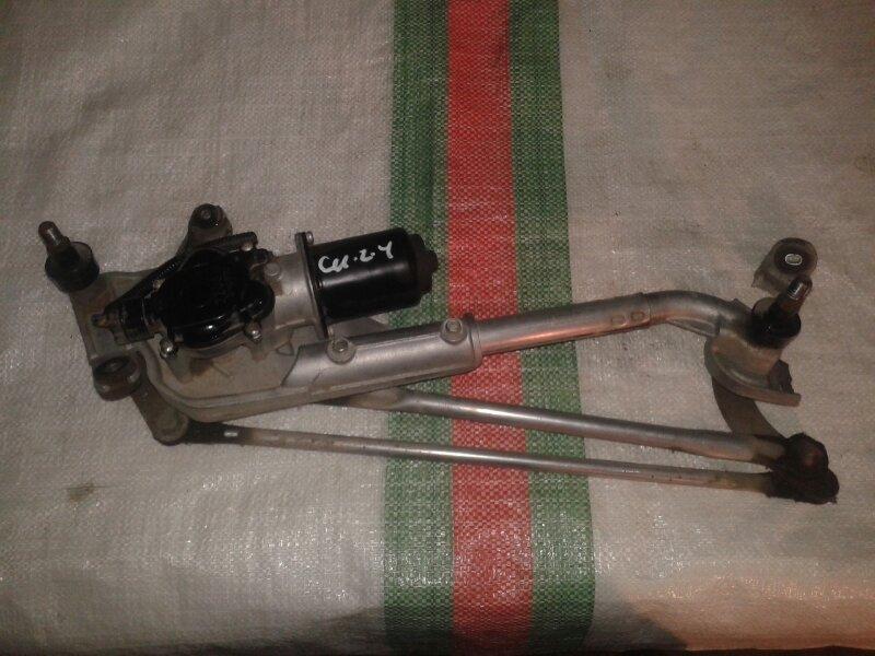 Механизм дворников, трапеция Honda Accord CU2 K24Z3, 2,4 2012 передний