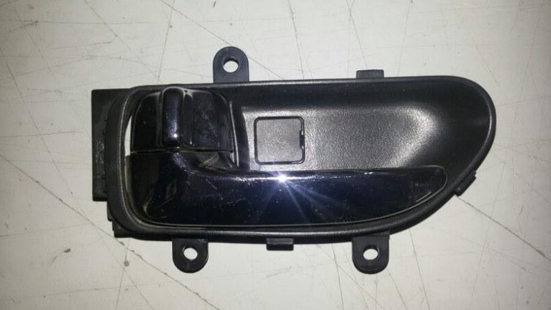 Ручка двери внутренняя Nissan X-Trail T31 QR25DE 2012 задняя левая