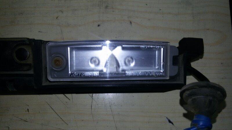 Подсветка номера Lexus Gs450H GWS191 2GRFSE 2008 задняя правая