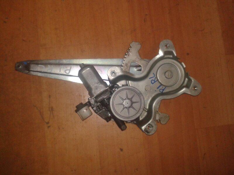 Стеклоподъёмный механизм Mitsubishi Pajero Sport KH4W 4D56 2012 задний левый