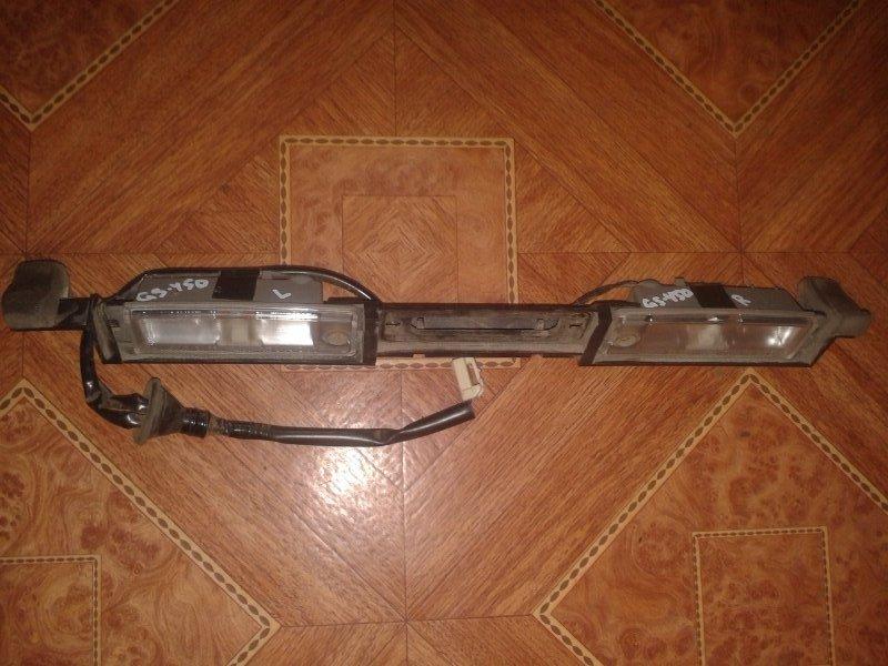 Подсветка номера Lexus Gs450H GWS191 2GRFSE 2008 задняя